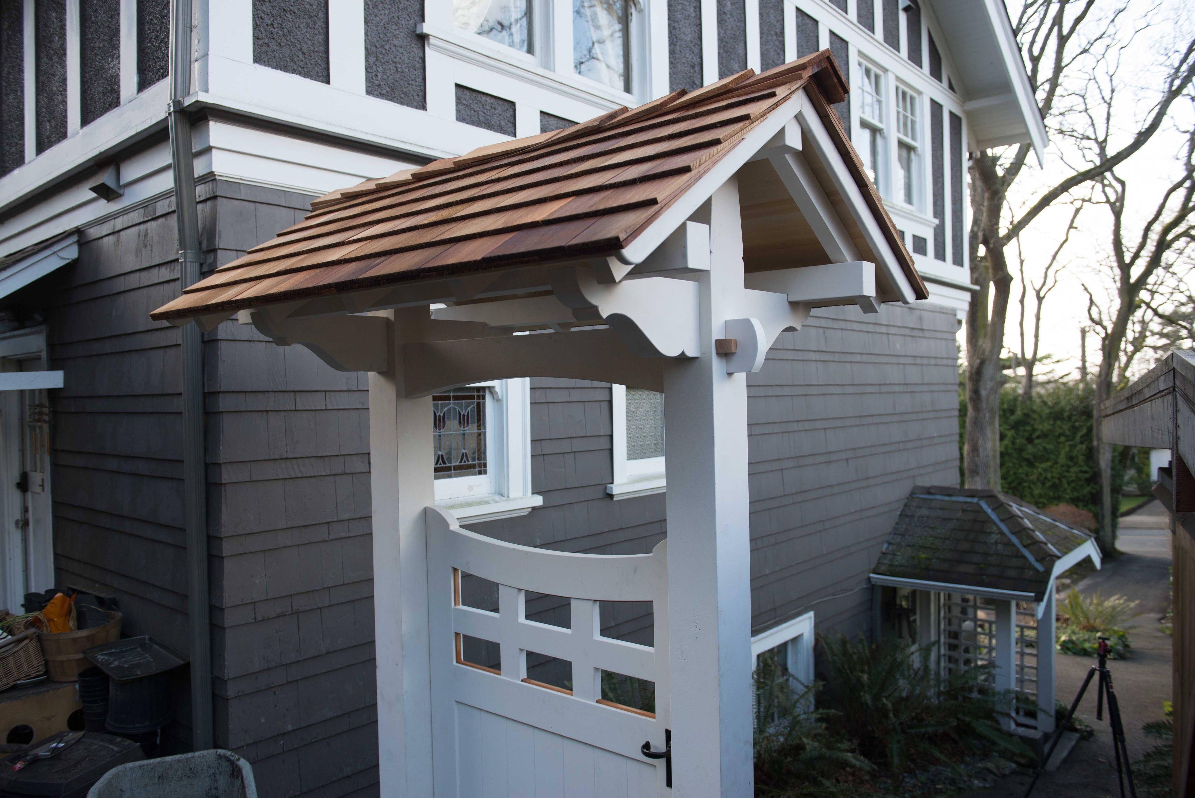 Building A Covered Gate Pt 2 The Samurai Carpenter