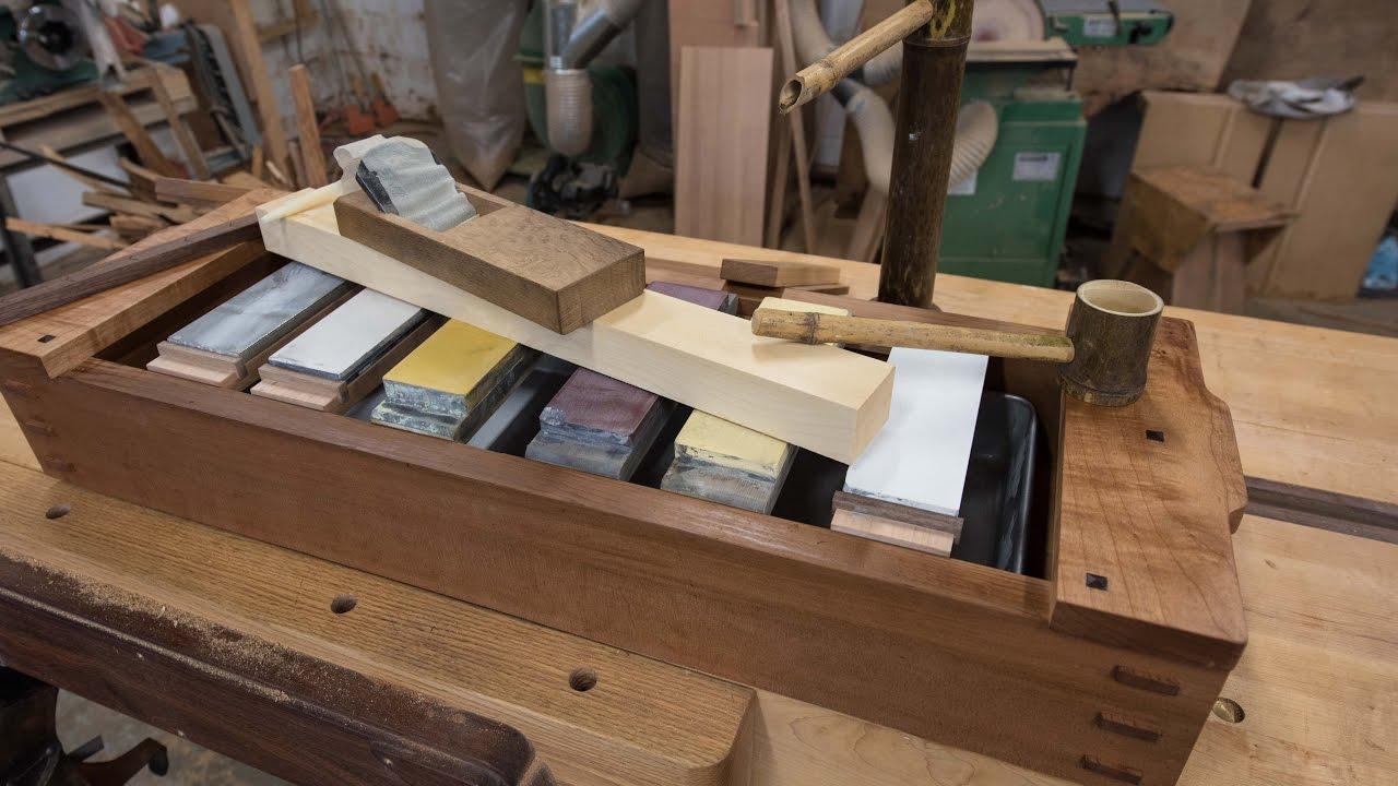 Japanese Tool Box Sharpening Station The Samurai Carpenter
