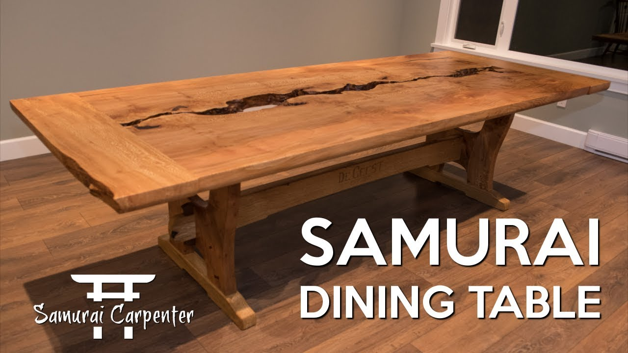 Building A Dining Table, Start To Finish! - The Samurai ...